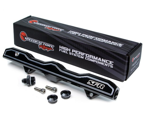 SpeedFactory Billet K-Series -10AN Mega Flow Fuel Rail -SF-02-802