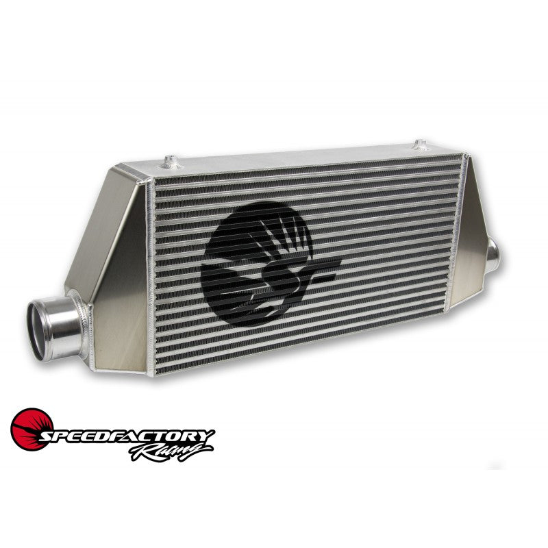 "SpeedFactory HP Side Inlet/Outlet Universal Front Mount Intercooler - 3"" Inlet / 3"" Outlet (850HP-1000HP)  SF-06-087"