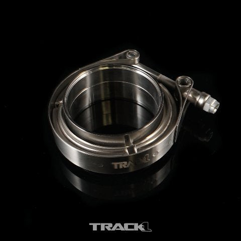 "K-Tuned TrackOne - Stainless Steel V-Band Assembly (4"") - T1-48-4000"