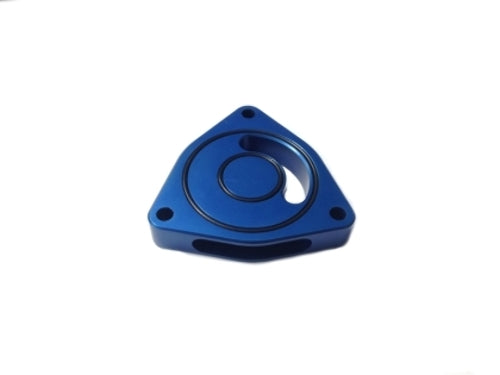 Torque Solution Blow Off BOV Sound Plate (Blue) for Hyundai Genesis Coupe2.0TALL