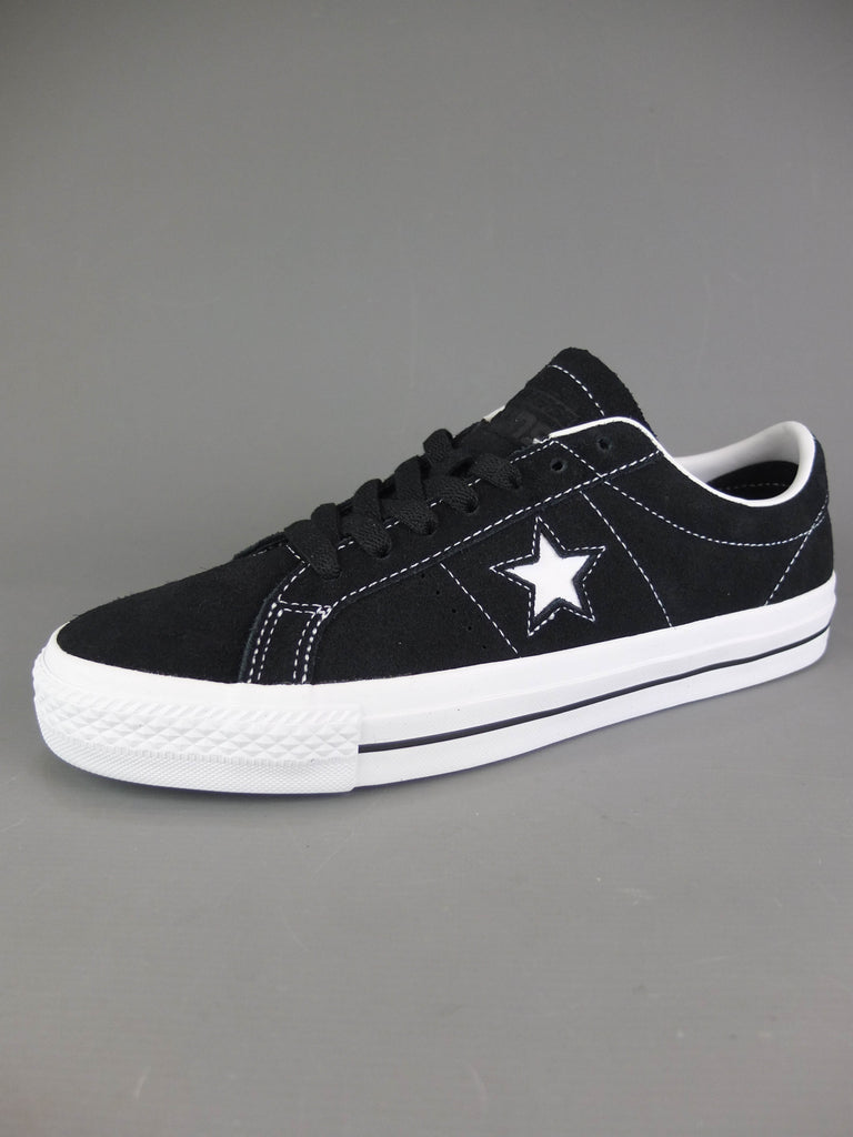 Converse One Star Pro Black / White