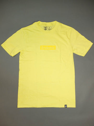 Endemic CMYK Tribute T-shirt Yellow