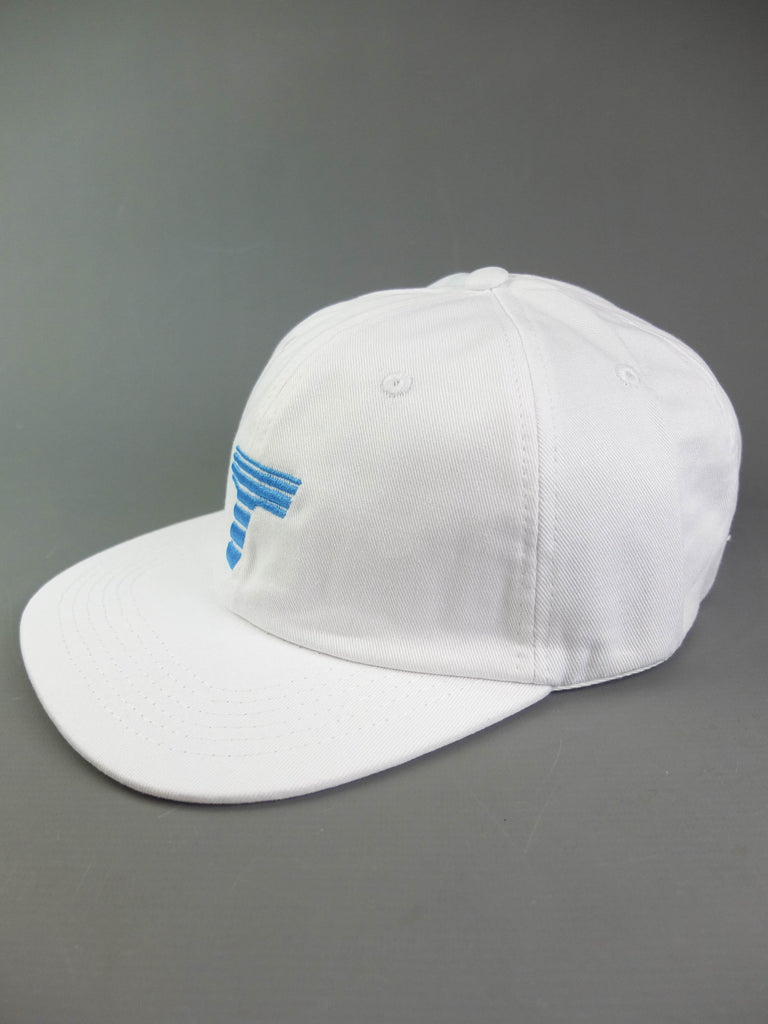 Theobalds Cap Co. Athletics 'Home' Six Panel White / Electric Blue