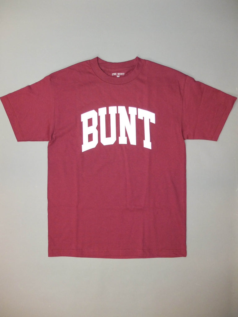 The Bunt College T-shirt Burgundy