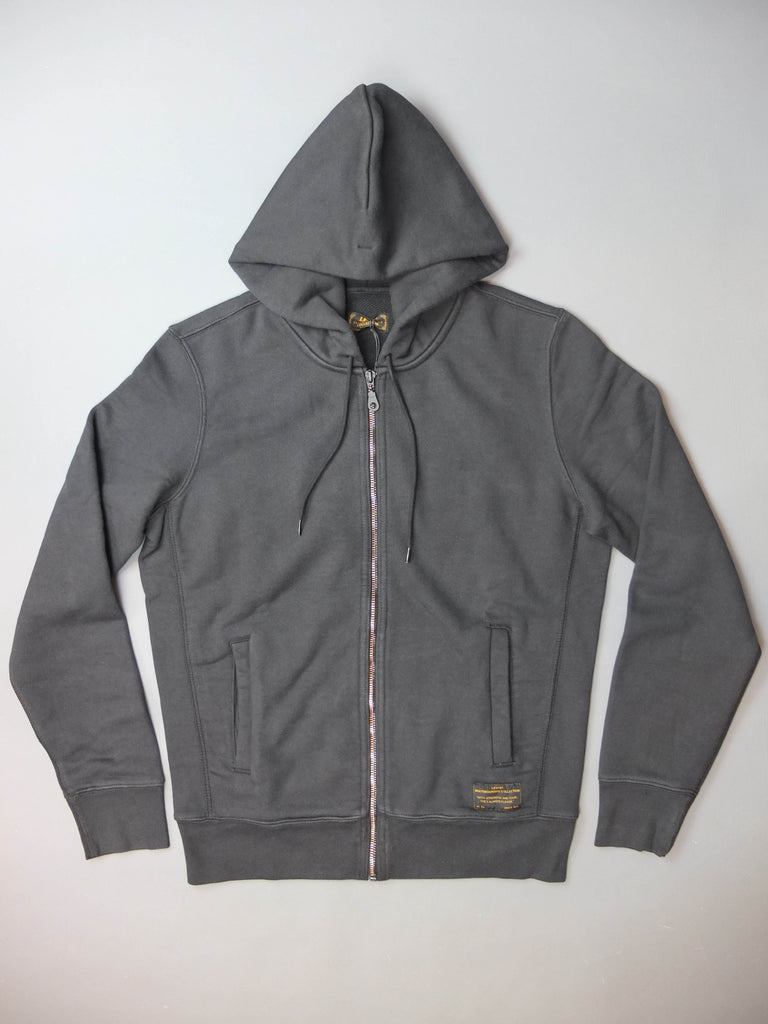 Levis Skateboarding Full Zip Hoody Black