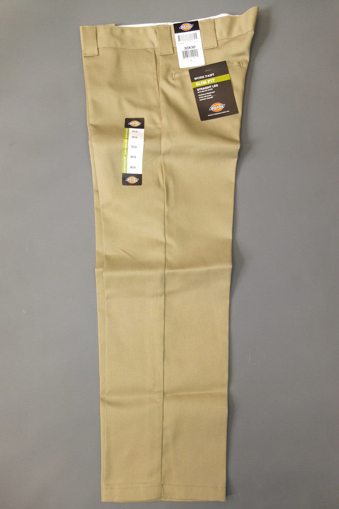 Dickies Wp873 Slim Straight Work Pant Khaki