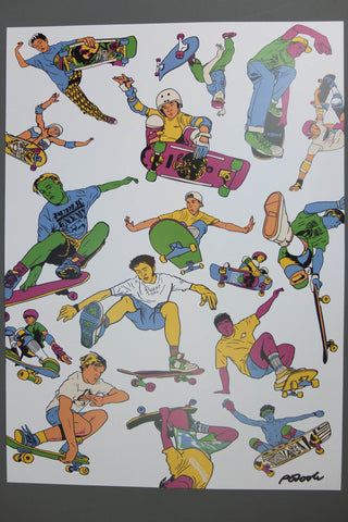 Endemic Skate Print By Peter O'Toole - Endemic Skate Store