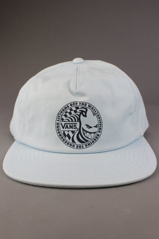 bf39581fa4c Vans X Spitfire Shallow Unstructured Hat Baby Blue - Endemic Skate Store