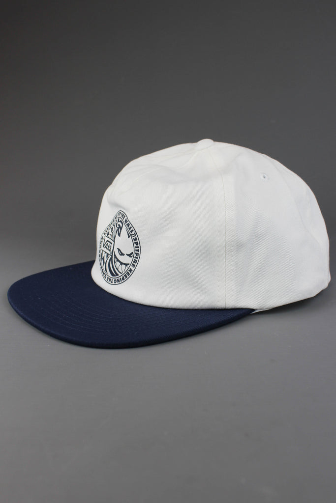 Vans X Spitfire Shallow Unstructured Cap Dress Blues White - Endemic Skate Store