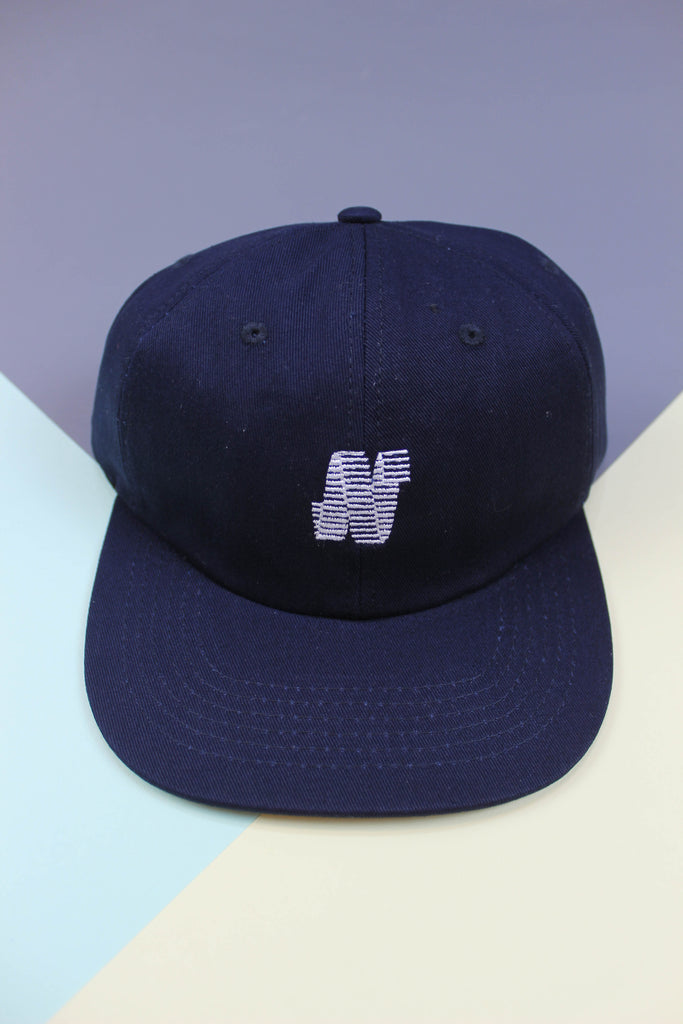North N Logo 6 Panel Cap - Navy - Endemic Skate Store