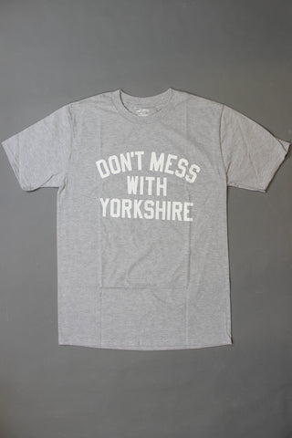 Don't Mess With Yorkshire Classic Short-sleeve T-shirt Grey - Endemic Skate Store