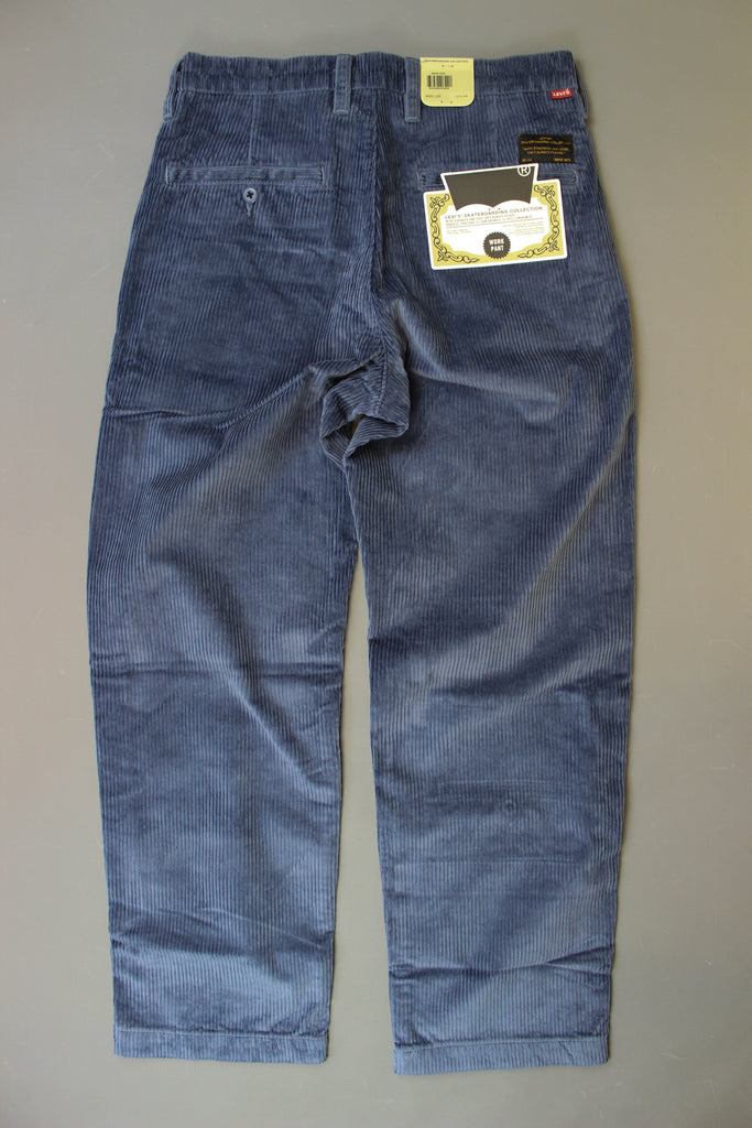Levis Skate Pleated Trousers Vintage Indigo - Endemic Skate Store