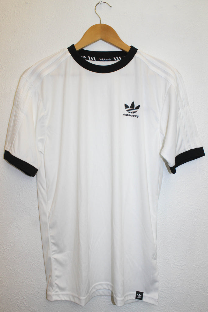 Adidas Clima Club Jersey White / Black - Endemic Skate Store