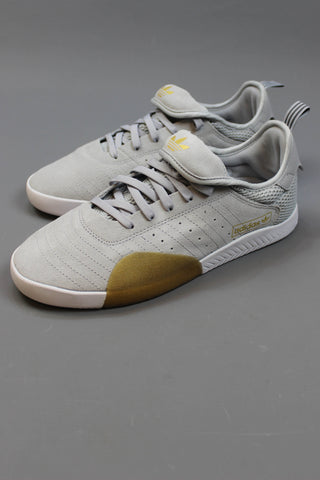 Adidas 3ST.003 shoes - CLEAR ONIX / GREY FIVE / FTWR WHITE - Endemic Skate Store