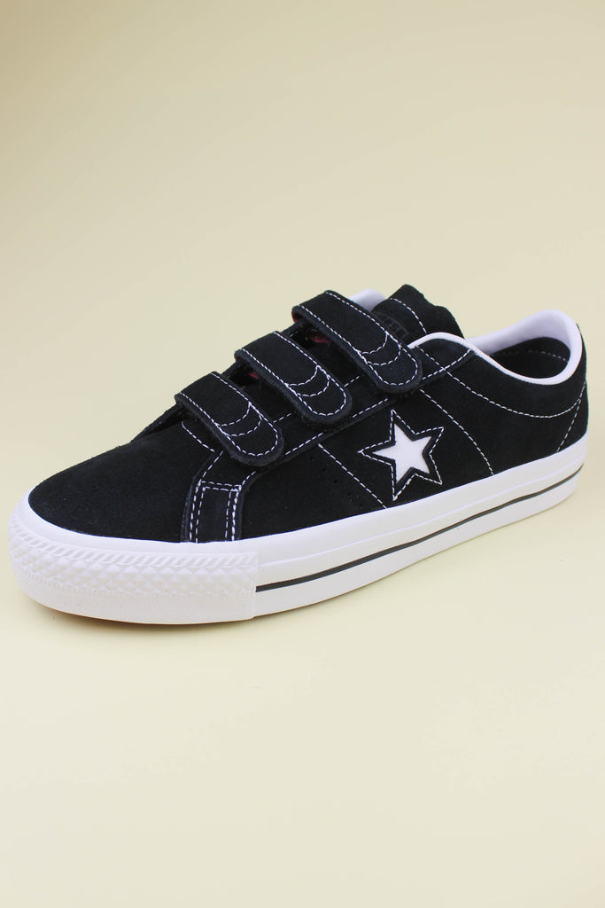 Converse One Star Pro 3 V Black / Pomegranate - Endemic Skate Store
