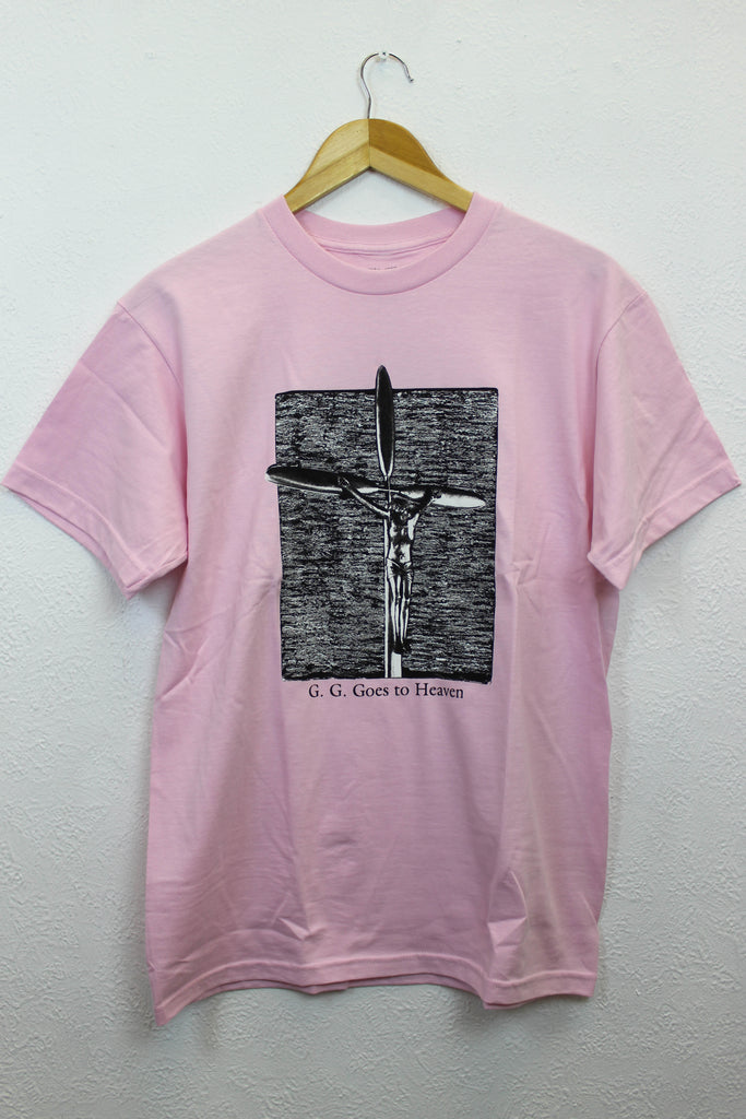 Fucking Awesome GG Goes To Heaven Tee Pink - Endemic Skate Store