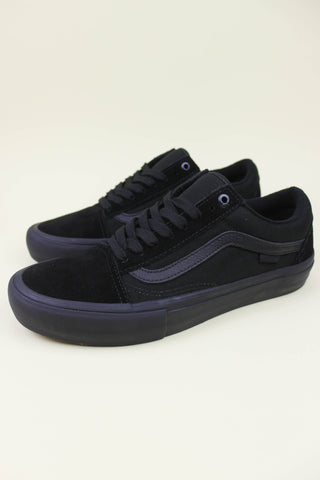 Vans Old Skool Pro Blackout - Endemic Skate Store