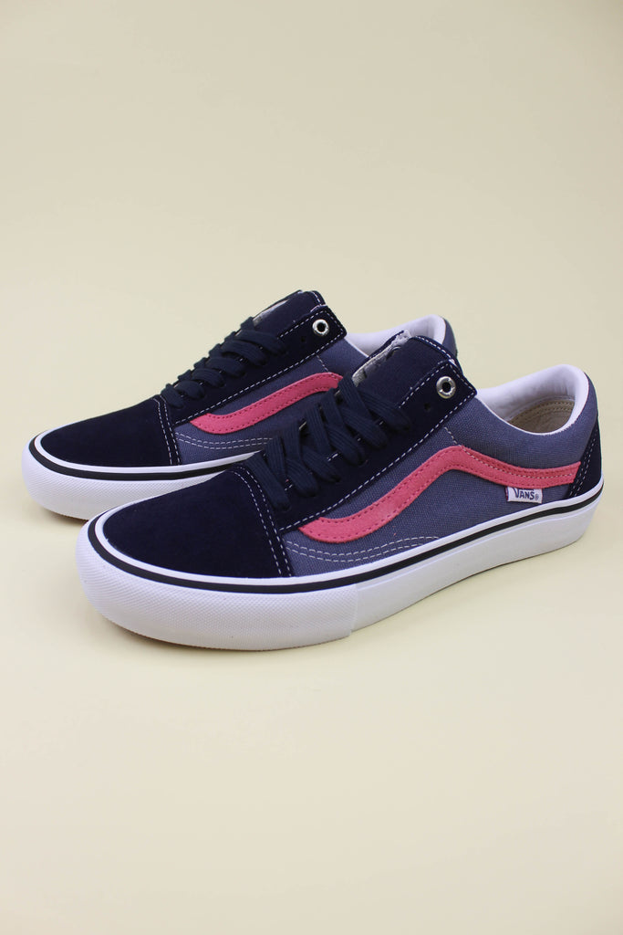 Vans Old Skool Pro Sky Captain / Pink - Endemic Skate Store