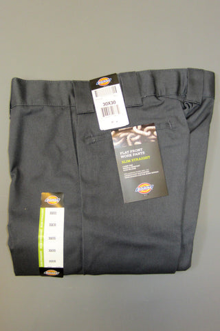 Dickies Wp873 Slim Straight Work Pant Charcoal Grey - Endemic Skate Store