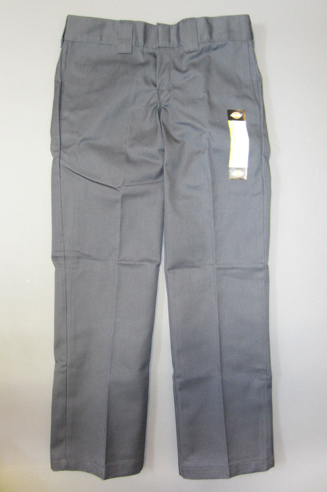 Dickies Wp873 Slim Straight Work Pant Charcoal Grey