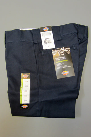 Dickies Wp873 Slim Straight Work Pant Dark Navy