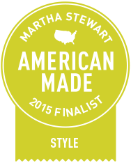 Martha Stewart 2015 American Made Awards Finalist!