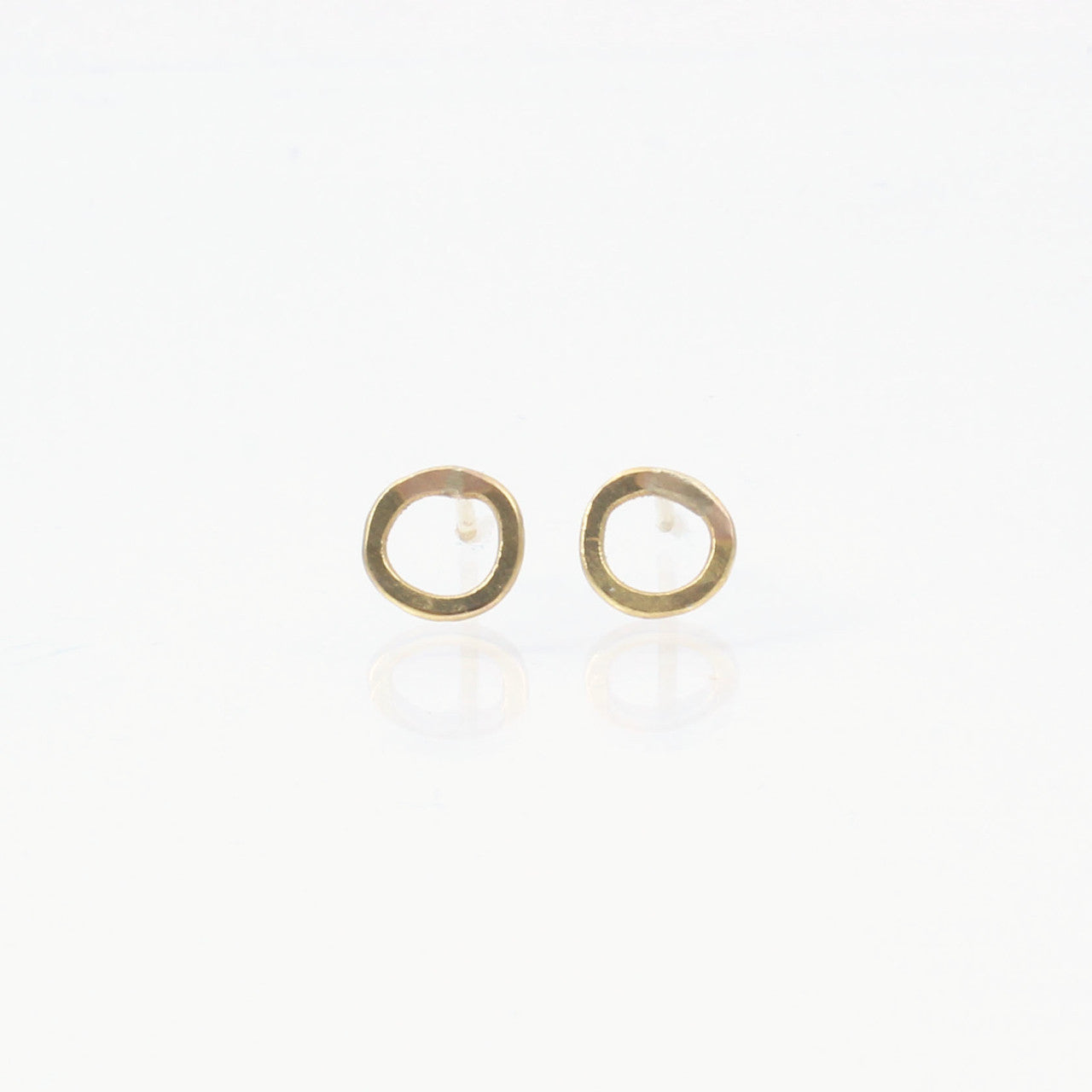 14k Gold Extra Small Comet Studs