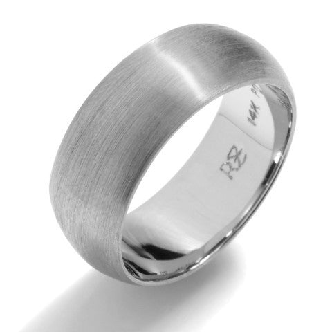 9mm Classic Half Round Wedding Band
