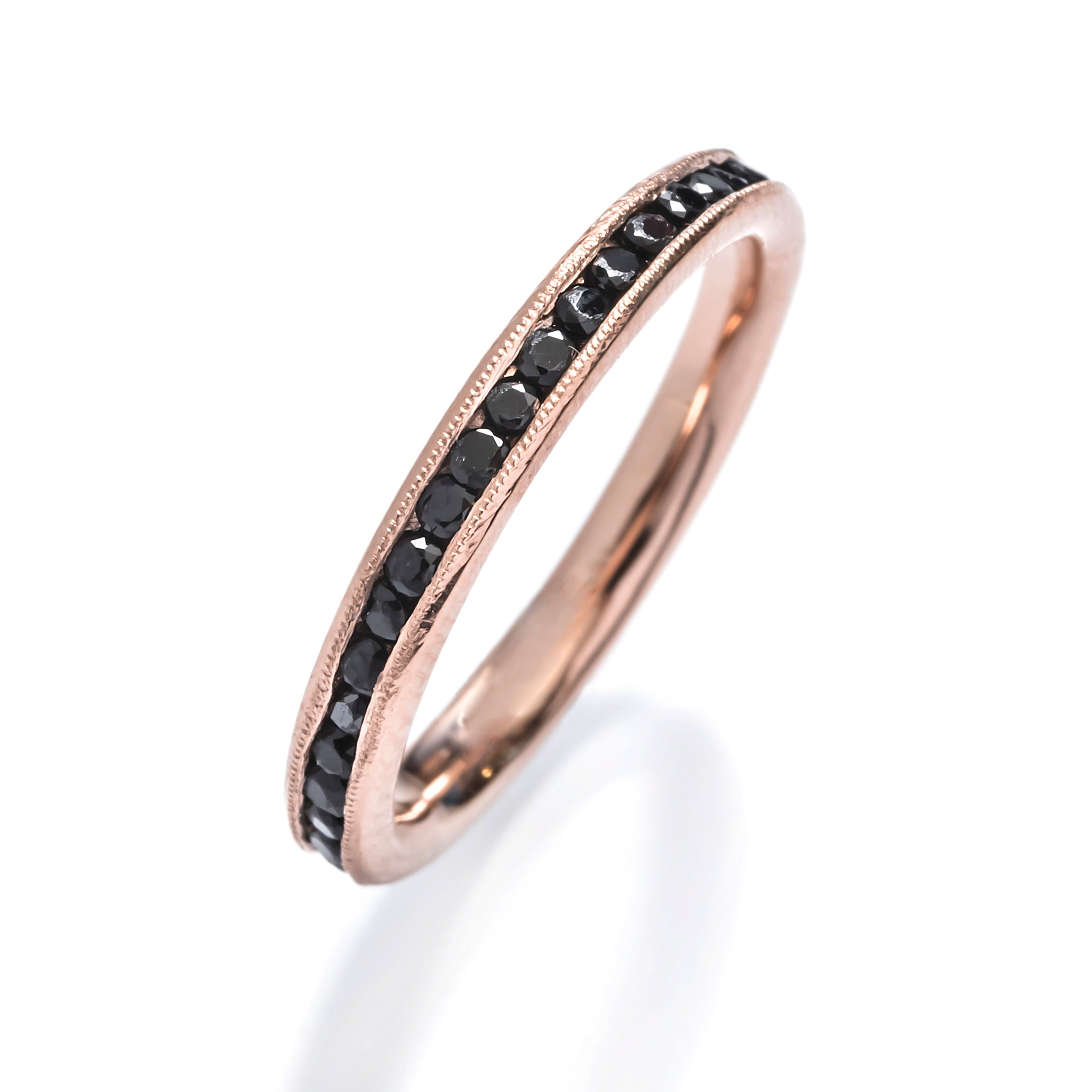 Eternity Band with Onyx