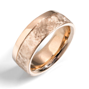 Flat Comfort Golden Ratio Ring