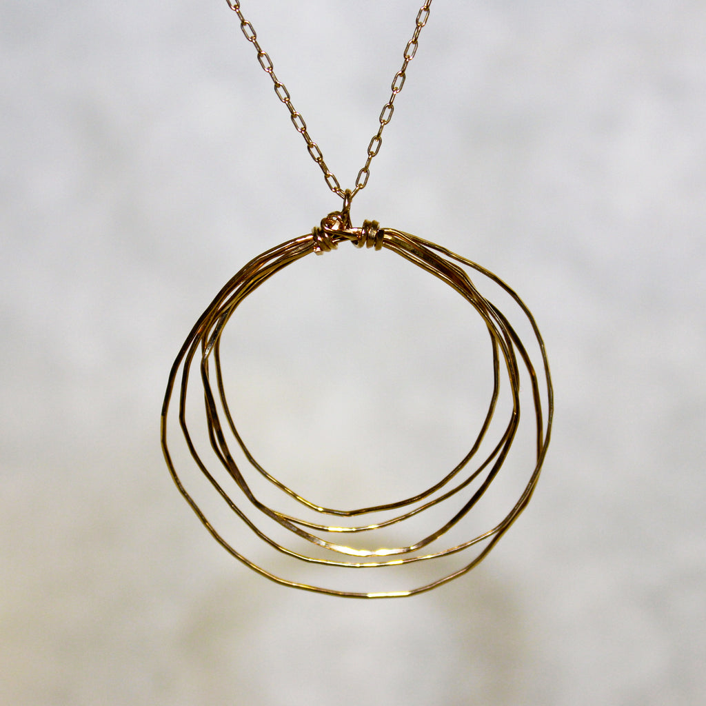 Large In Orbit Necklace