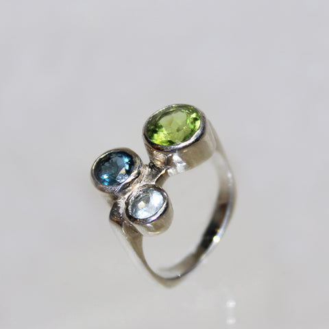 Stepping Stone Cocktail Ring