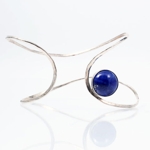 Infinity Cuff with Stone