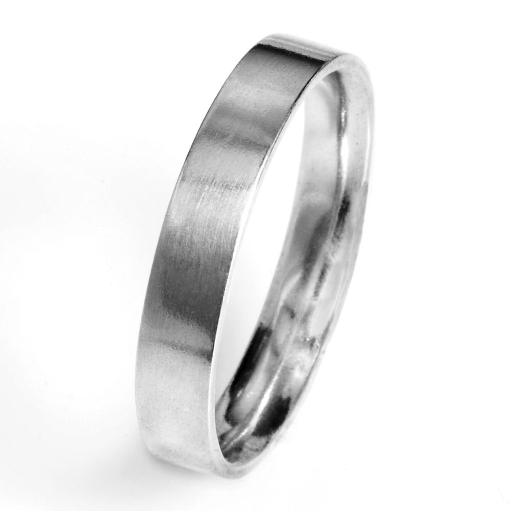 4.5mm Flat Comfort Fit Wedding Band