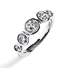 heirloom diamond ring, recycling reusing family stones