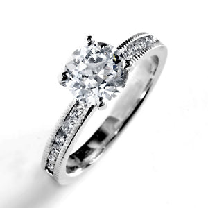 Principesa Prong Set Brilliant Engagement Ring