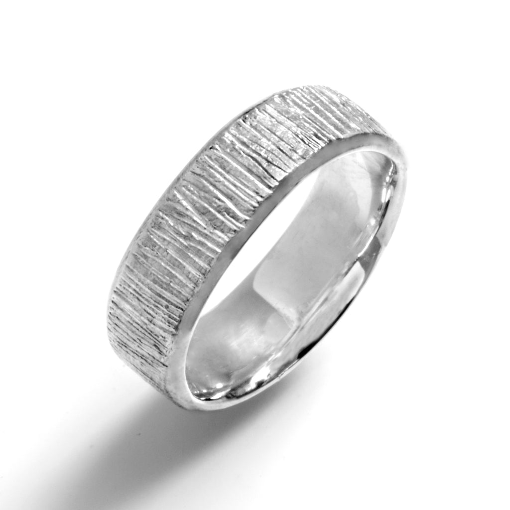 Textured Bevel Ring