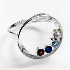 grandmother's ring, nebula birthstones
