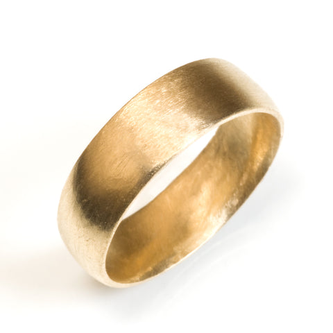 6mm Classic Half Round Wedding Band