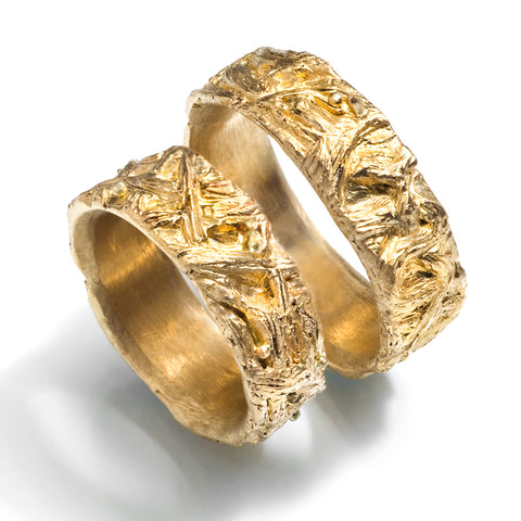 Yggdrasil Wedding Bands