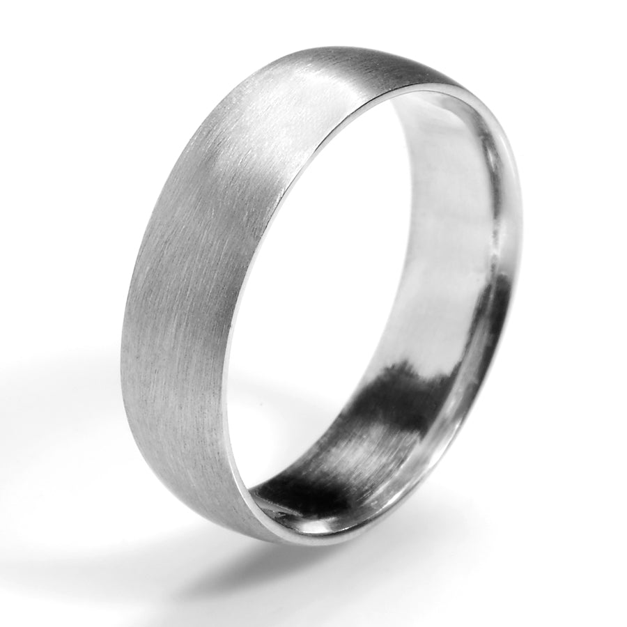 Sleek Comfort Fit Wedding Band