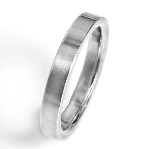 3mm Flat Comfort Fit Wedding Band