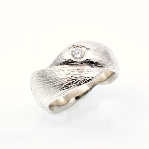 Wave Wedding Ring