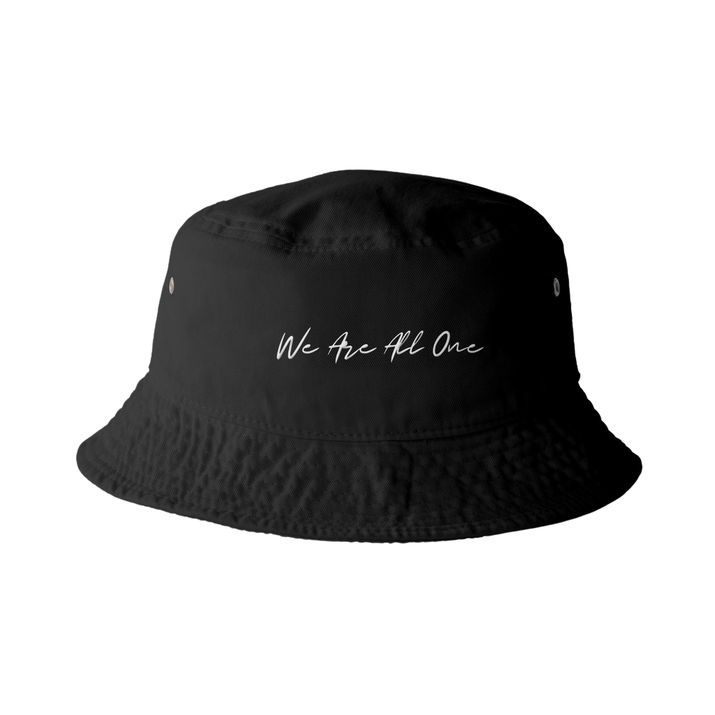 """We Are All One"" Cotton Bucket Hat"