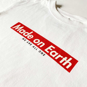 """Made on Earth"" Women's Basic T-Shirt"