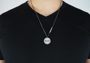"WAAO ""Awareness"" Necklace - Ancient Grey"