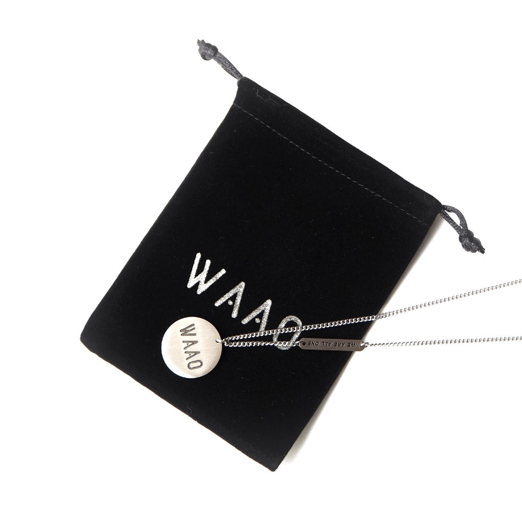 "WAAO ""Awareness"" Necklace - Silver"
