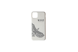 WAAO Eco-friendly White Phone Case