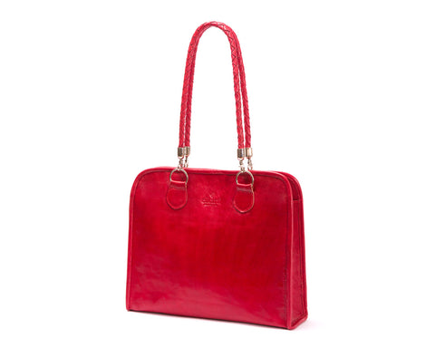 Signature Tote (red)