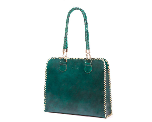 Signature Tote (green)